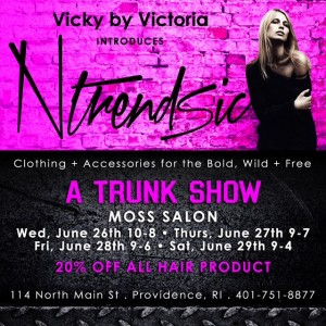 Ntrendsic Trunk Show at Moss Salon