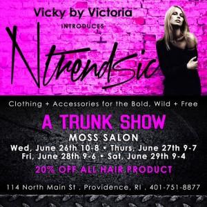 Ntrendsic Trunk Show at Moss Salon